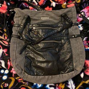 ROXY Denim & Pleather Crossbody bag